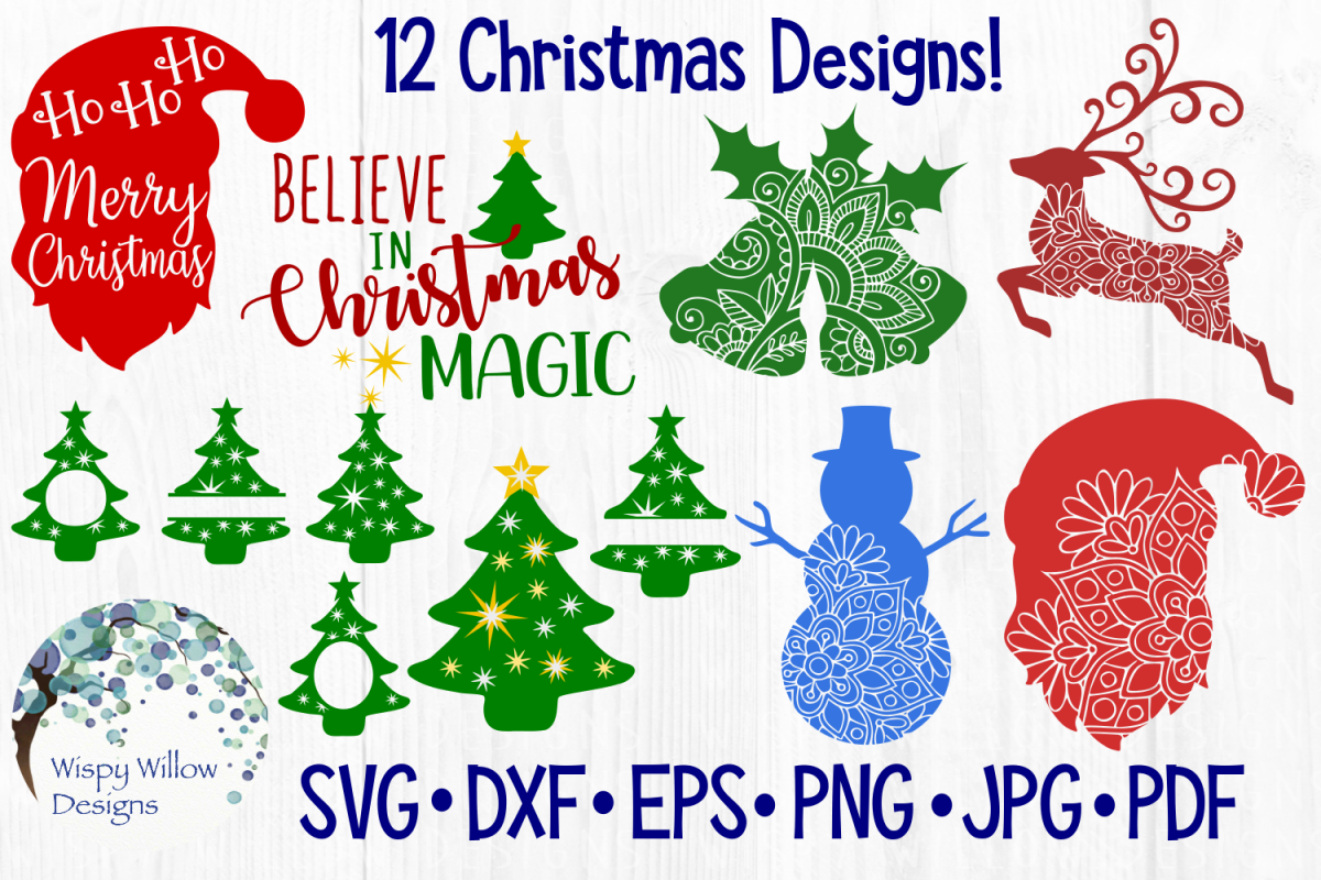 Christmas SVG Bundle Pack example image 1