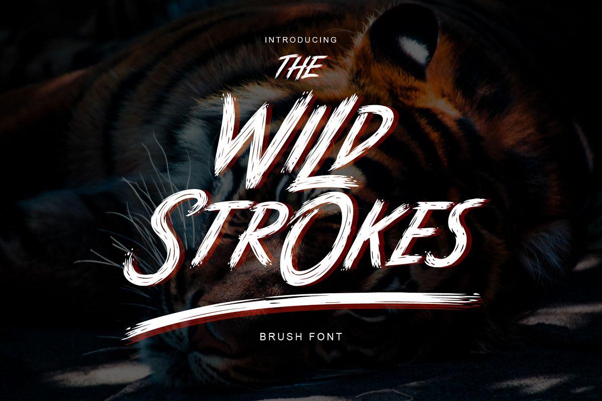 The Wild Strokes example image 1