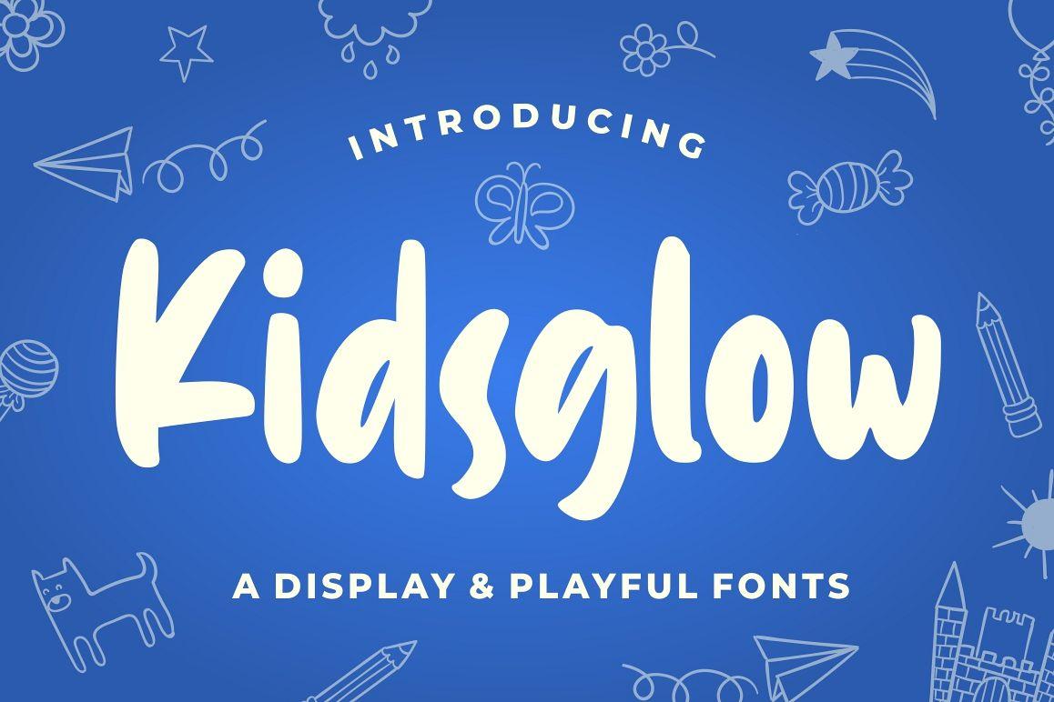 Kidsglow - Fun Fonts example image 1