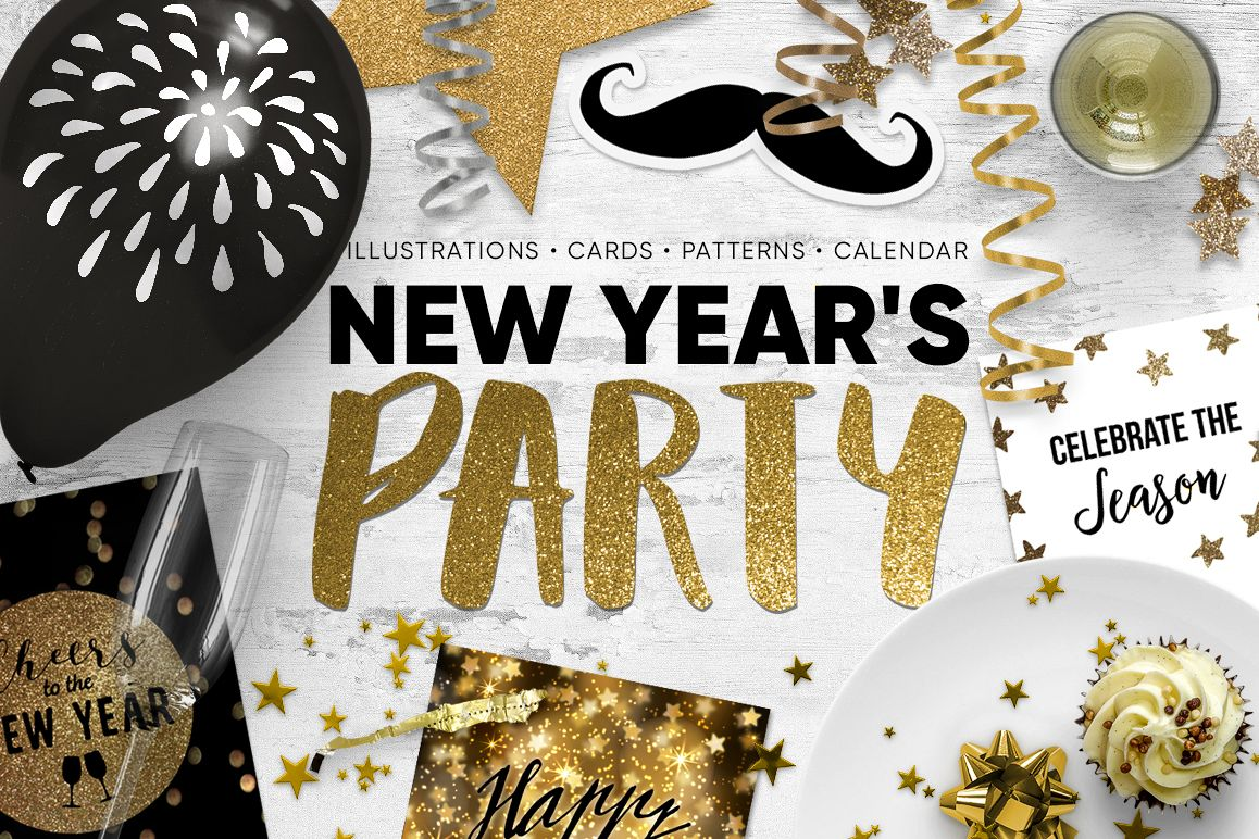 New Year's  party set example image 1