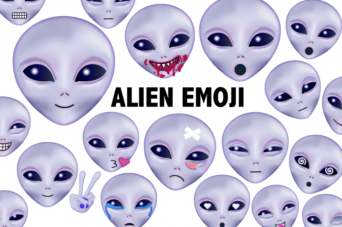 Alien Emoji Clipart example image 1