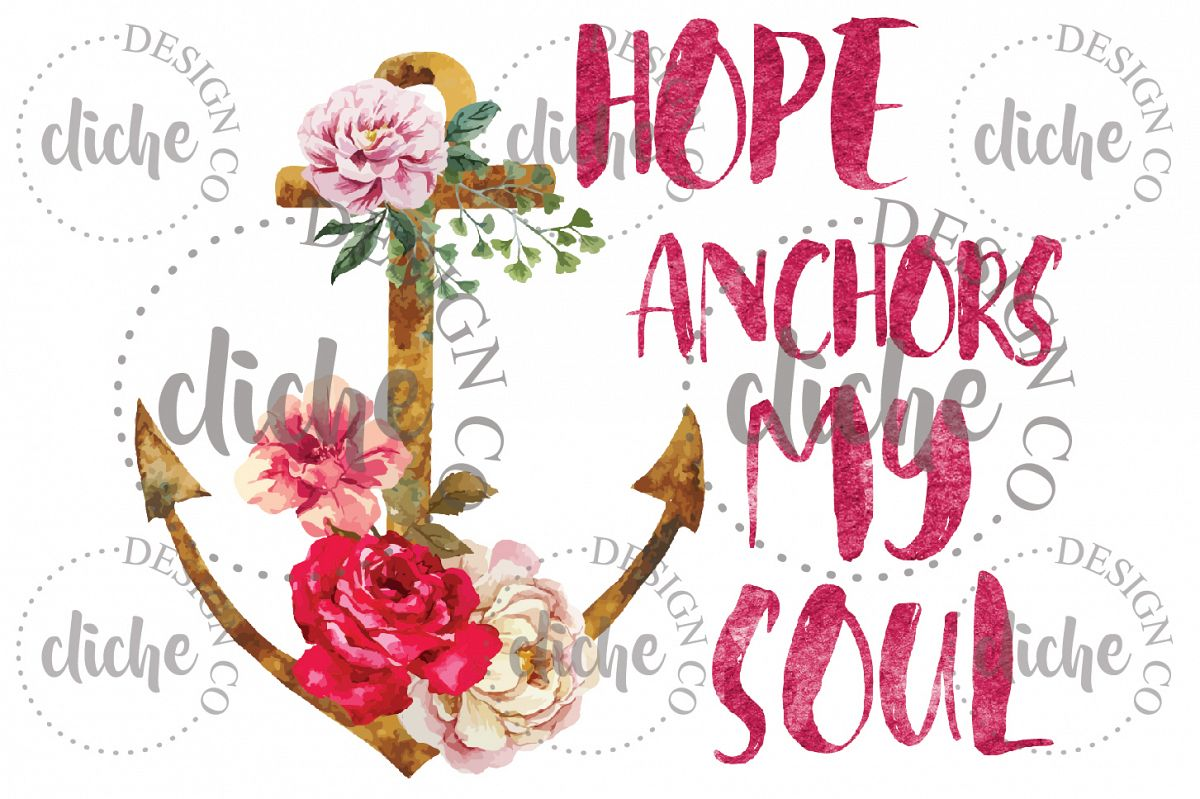 Anchor Sublimation Design example image 1