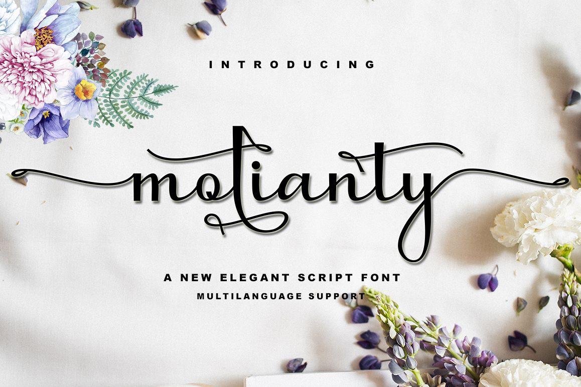 molianty Script example image 1