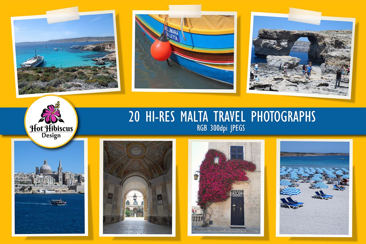 Malta and Gozo Travel Photographs Pack example image 1