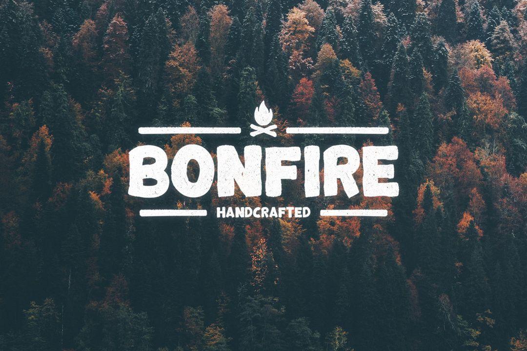 Bonfire Typeface example image 1