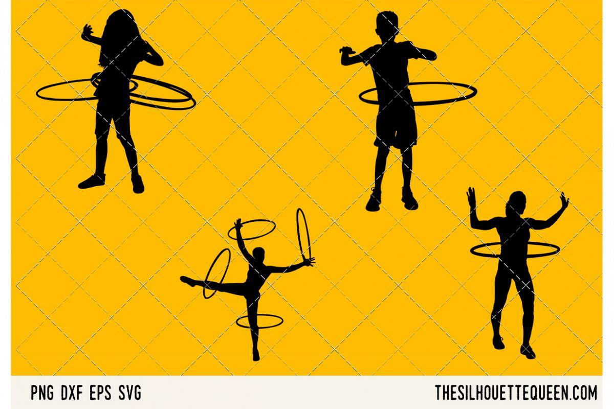 Hula Hooping SVG example image 1
