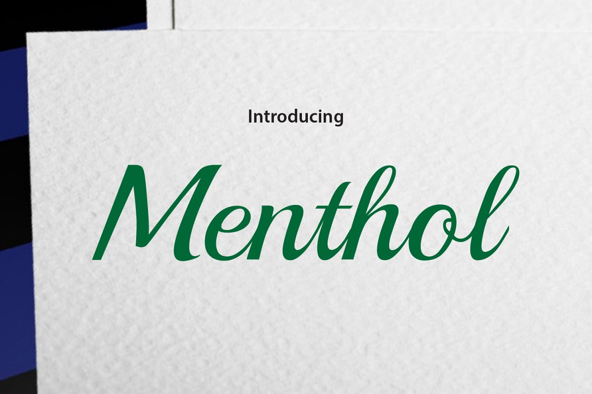 Menthol example image 1