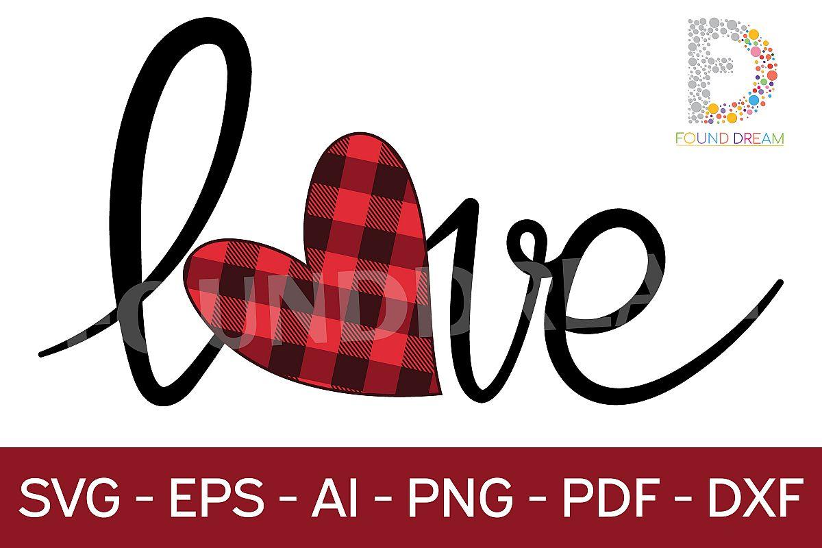 Love Valentine, svg file example image 1