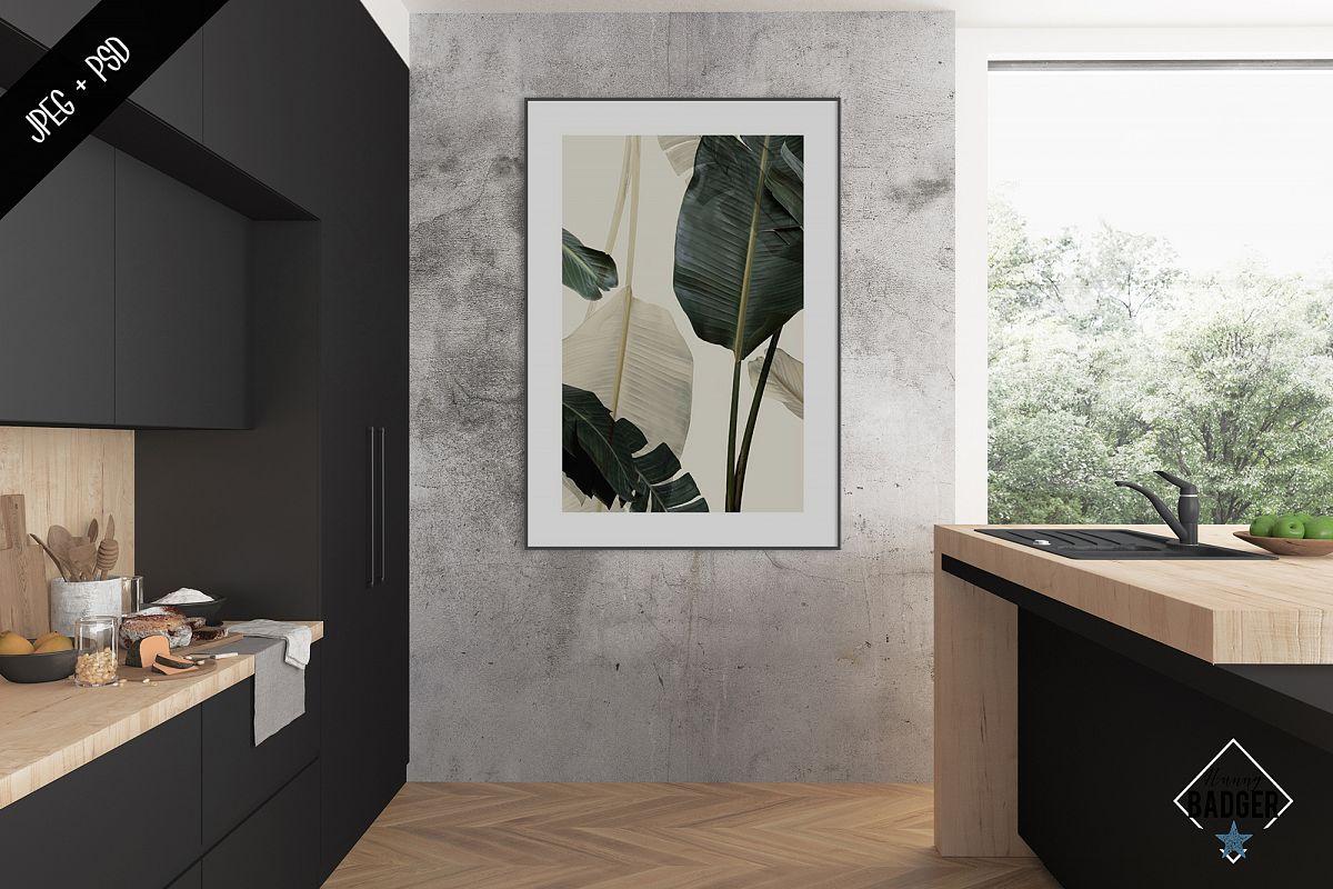Interior mockup - frame & wall mockup creator example image 1