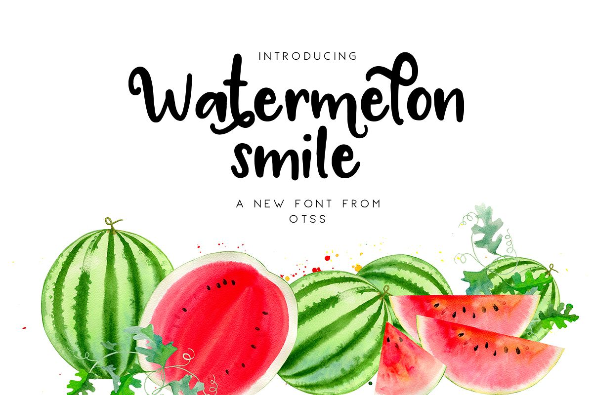 Watermelon Smile example image 1