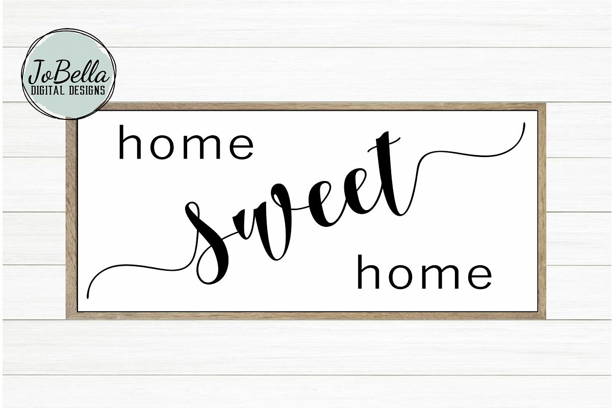 Home Sweet Home SVG and Printable Farmhouse Design example image 1