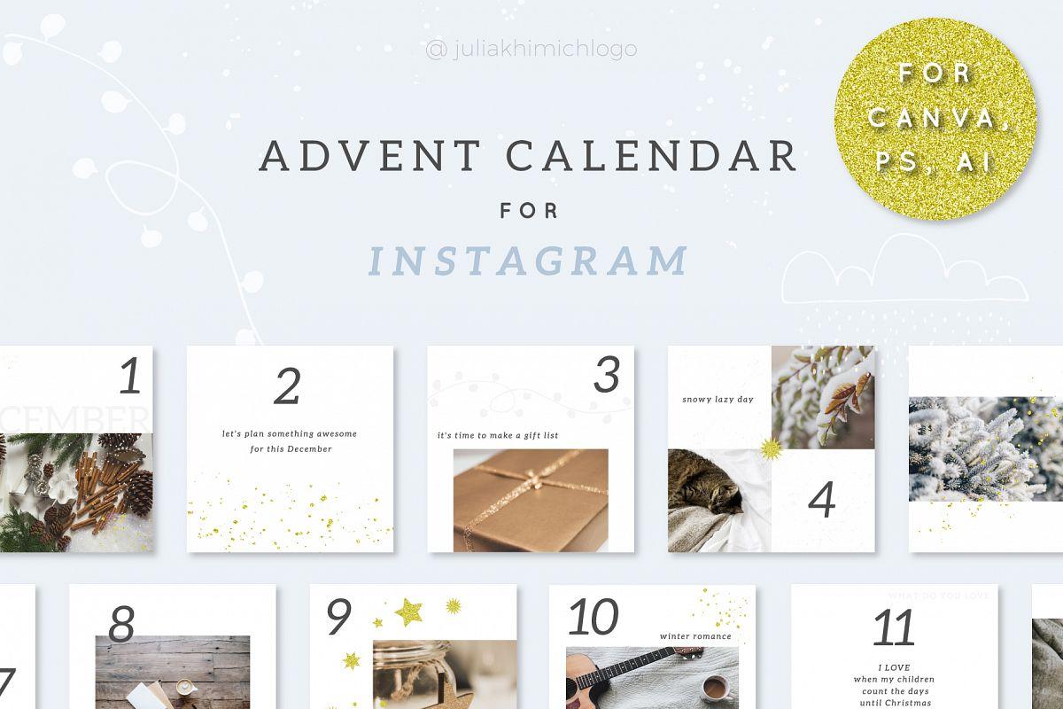 Advent Calendar for Instagram example image 1
