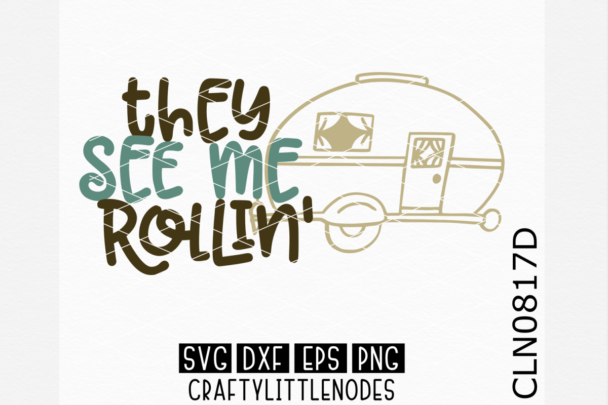 They See Me Rollin SVG example image 1