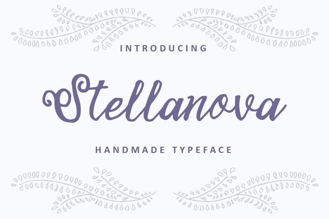 Stellanova Typeface example image 1