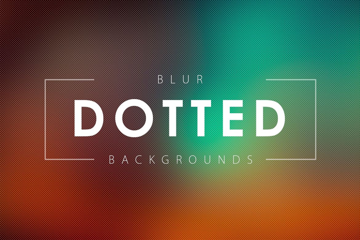 50 Dotted Blur Backgrounds example image 1