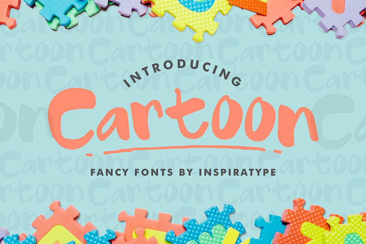 Cartoon - Fancy Font example image 1