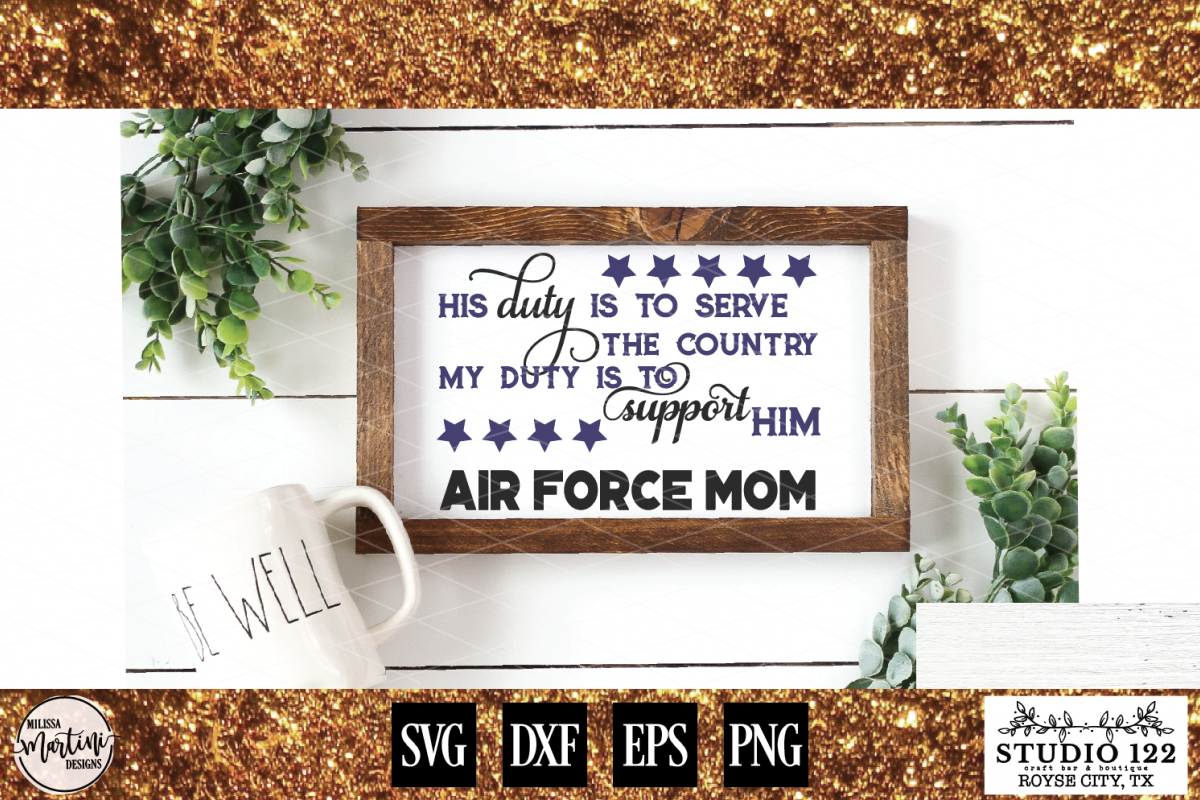 AIR FORCE MOM example image 1
