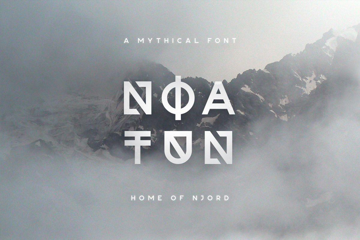 Noatun Typeface example image 1