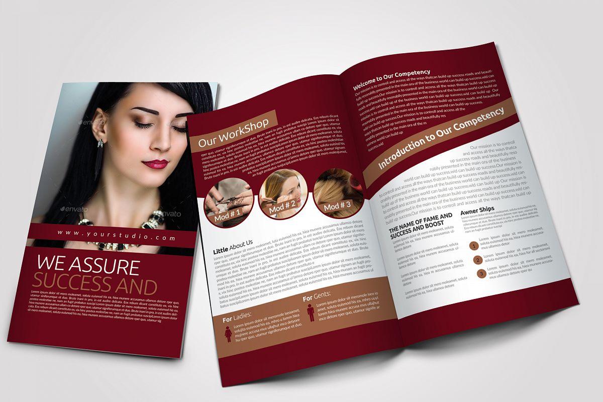 Beauty & Fashion Bifold Brochure example image 1