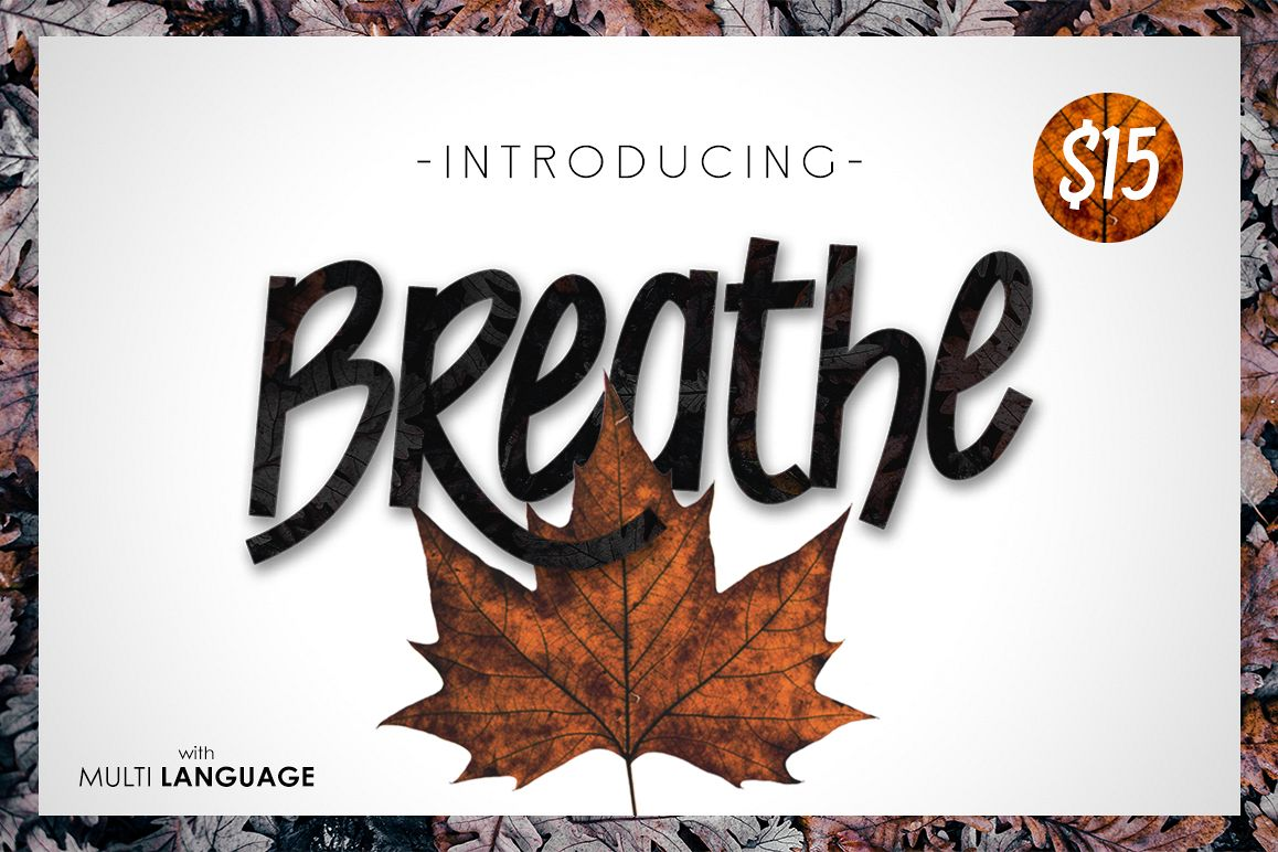 Breathe Typeface example image 1