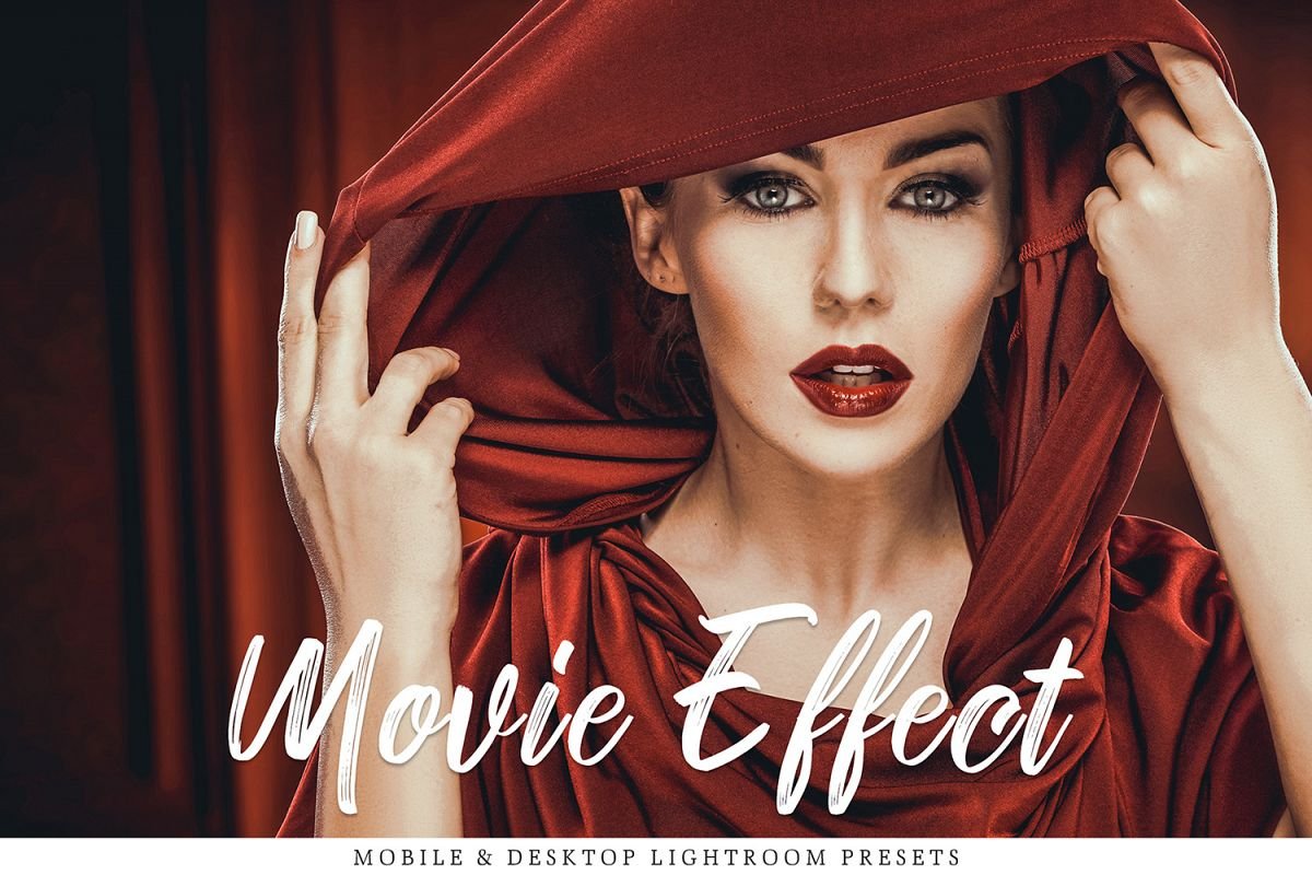 Movie Effect Mobile & Desktop Lightroom Presets Collection example image 1