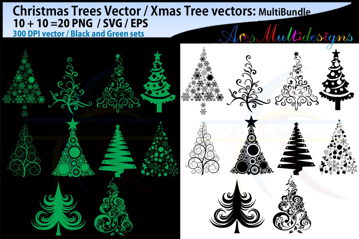 Christmas Trees Silhouette.X Mas Tree Svg Christmas Tree Svg Silhouette Vector