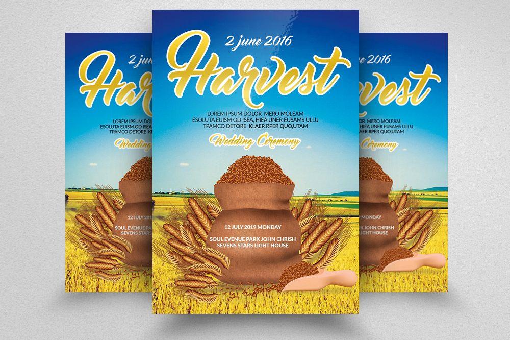 harvest festival flyer example image 1