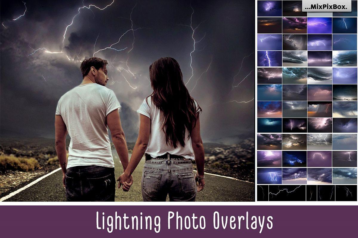 Lightning Photo Overlays example image 1