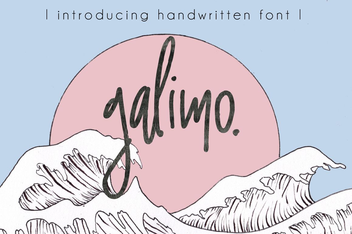 Galimo Font Duo example image 1
