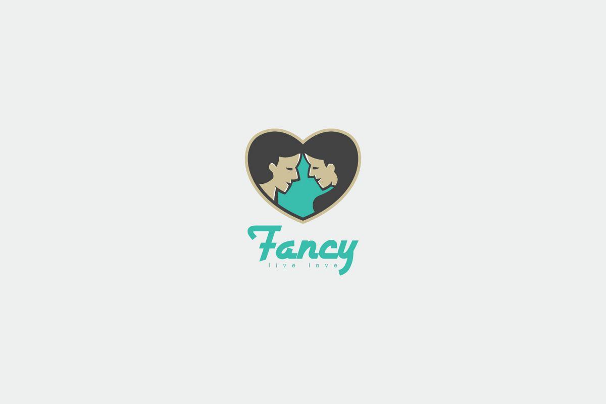 fancy logo template by kreasimalam design bundles