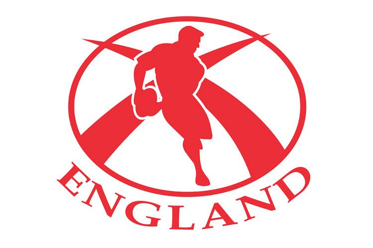 England Rugby player passing the ball example image 1