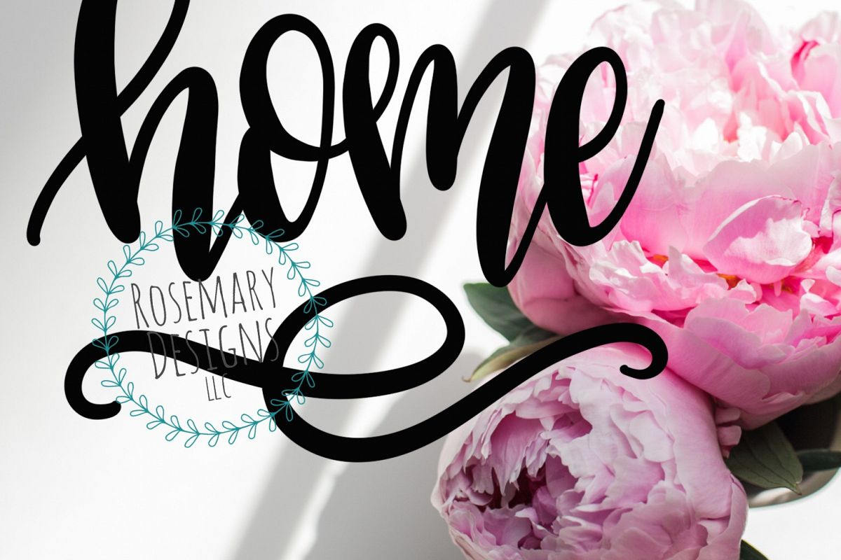 Home - Hand lettered SVG example image 1