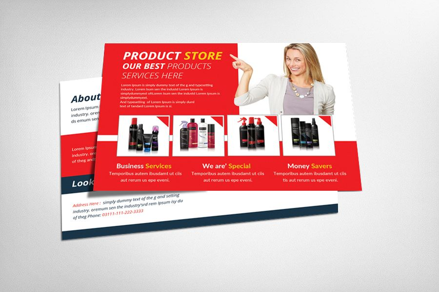 Product Promotion Postcard example image 1