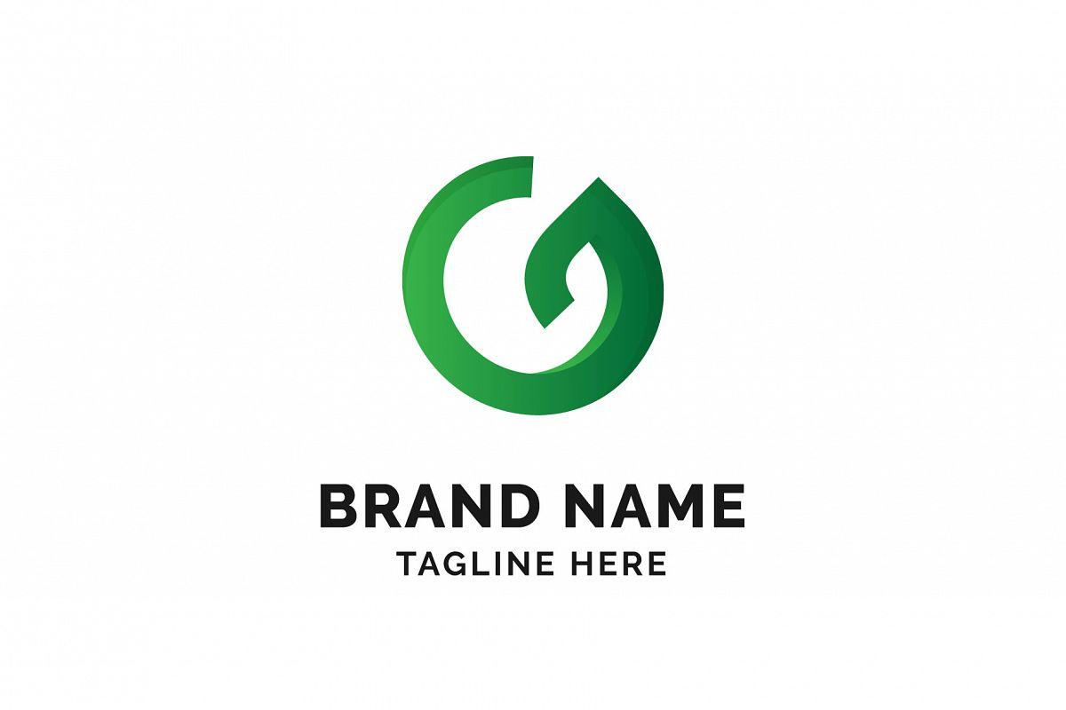 Green Leaf Logo example image 1