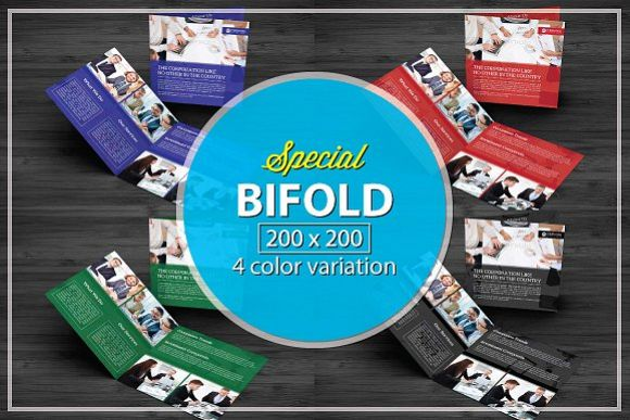 Bifold Corporate Brochure example image 1