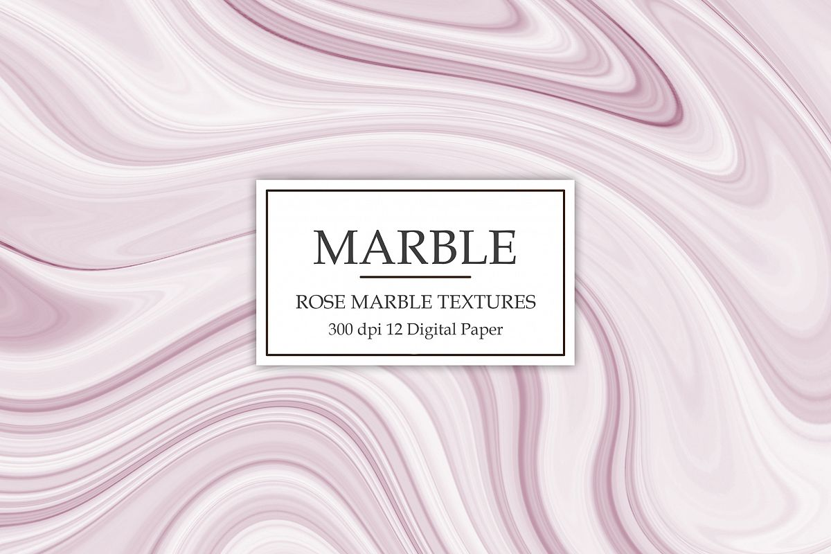 Rose Marble Textures example image 1