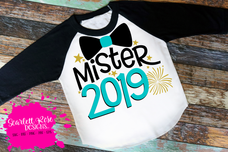 Mister 2019 - New Year's SVG example image 1