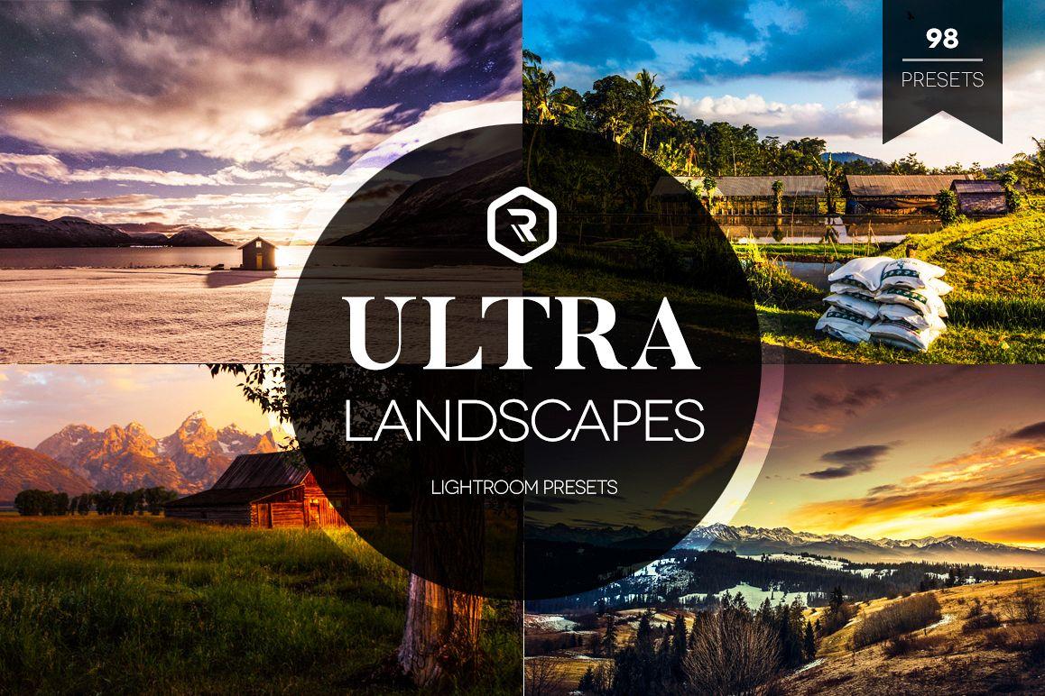 Ultra Landscapes Lightroom Presets example image 1