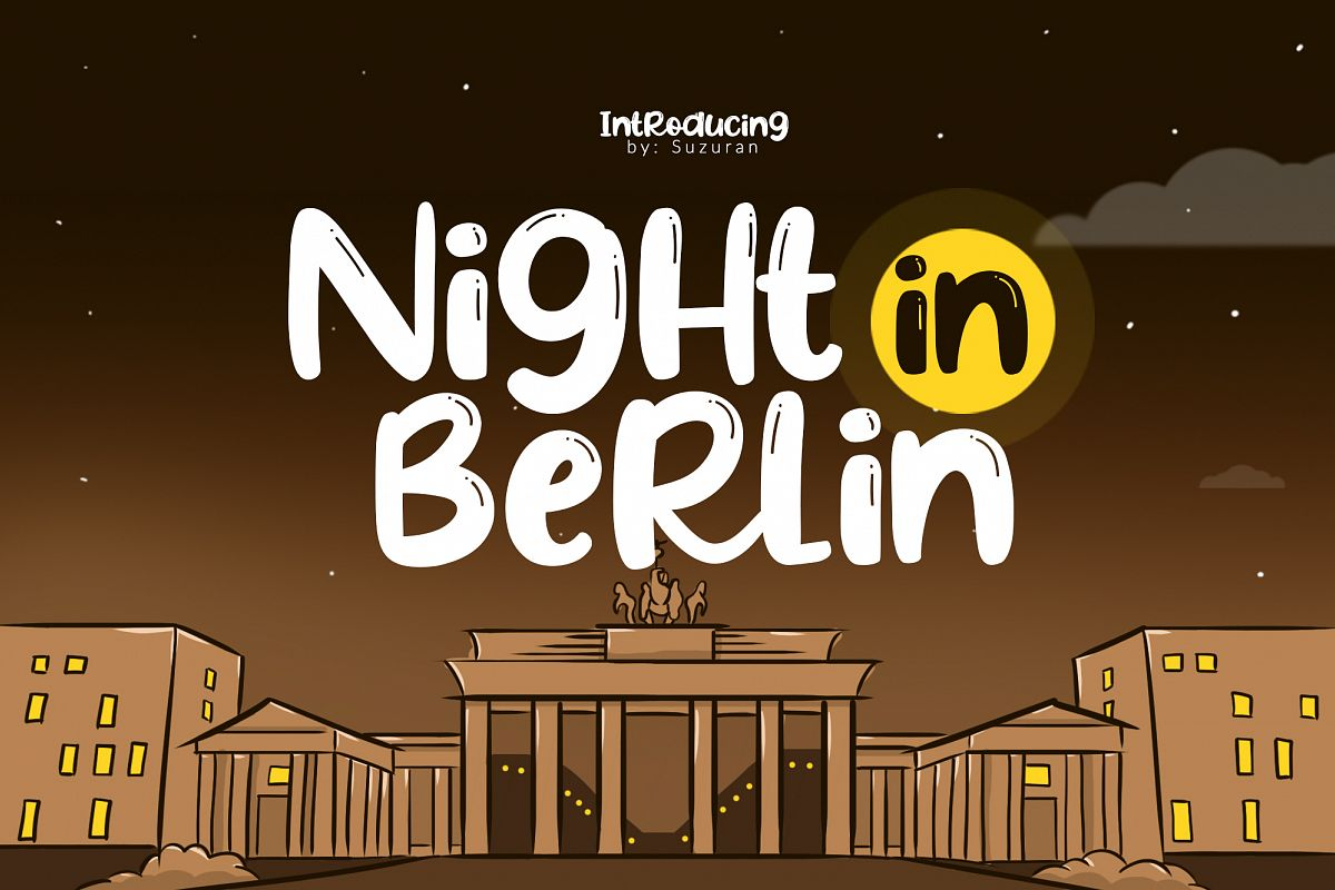 Night in Berlin example image 1