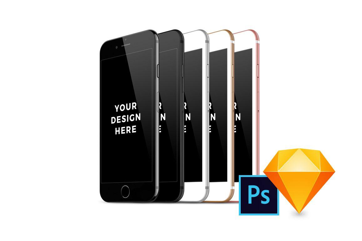 40x iPhone 7 Mockups example image 1