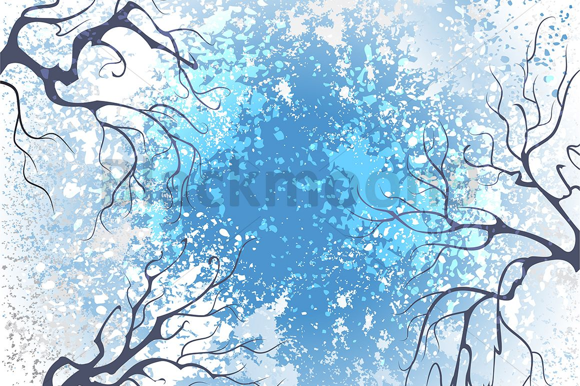 Winter branches example image 1