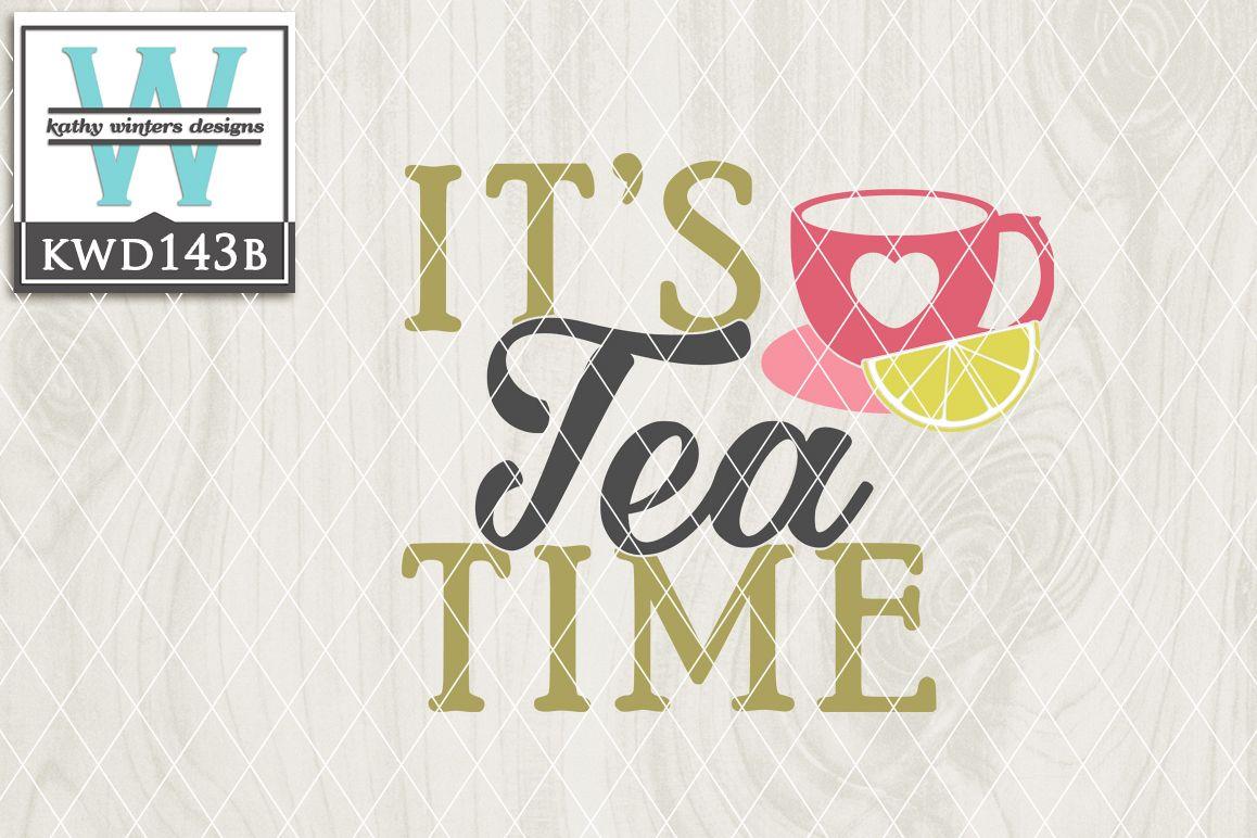 Tea Cutting File KWD143B example image 1