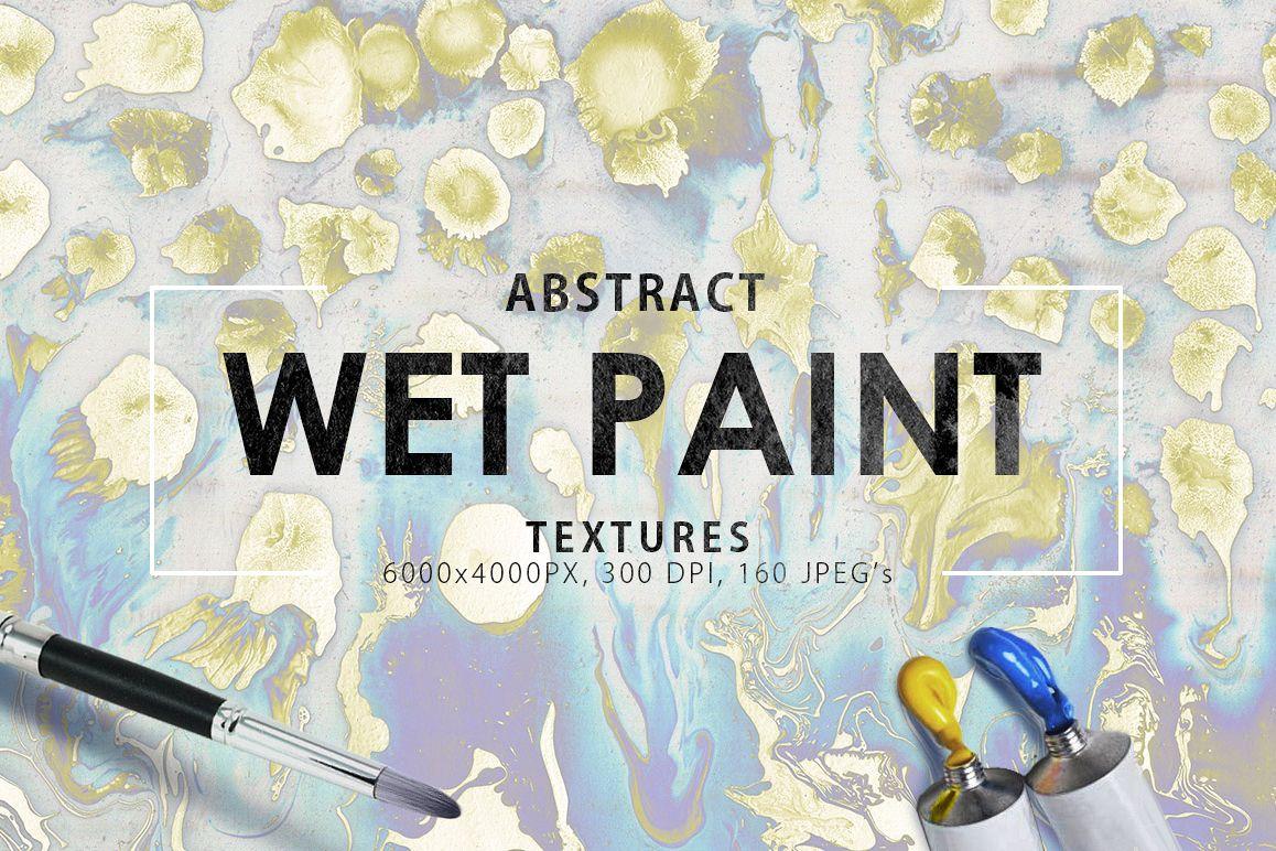 Wet Paint Textures Vol. 1 example image 1