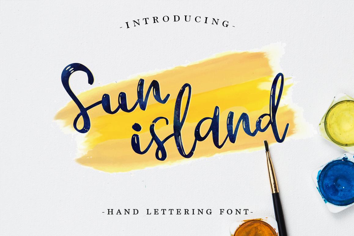 Sun island example image 1