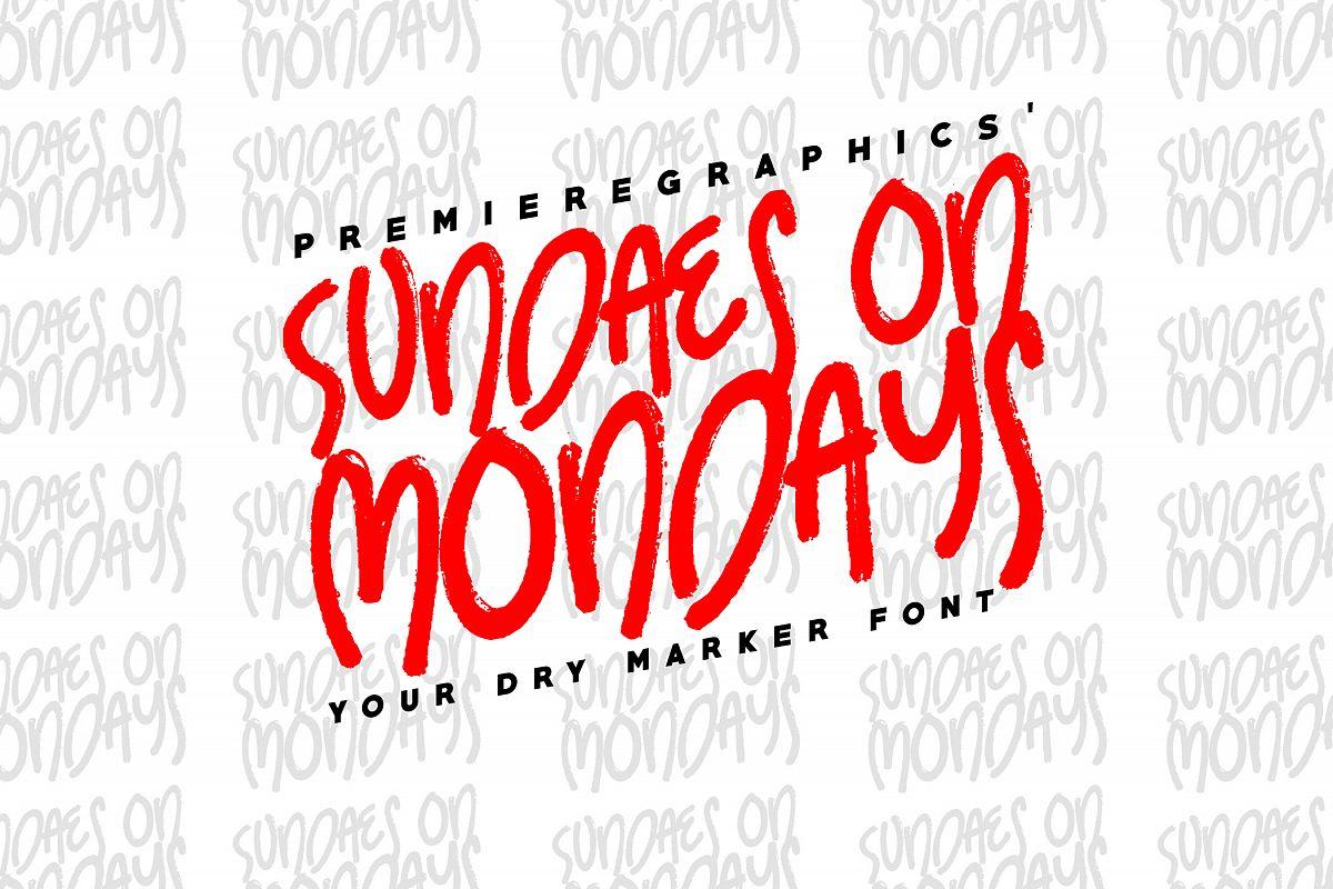 Sundaes on Mondays example image 1