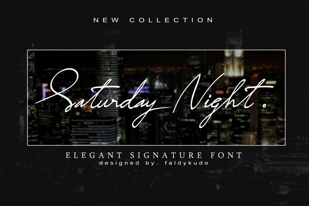 Saturday Night example image 1