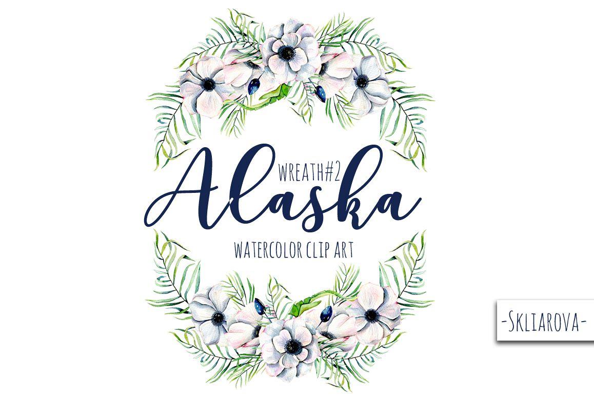 """Alaska"". Wreath #2 example image 1"
