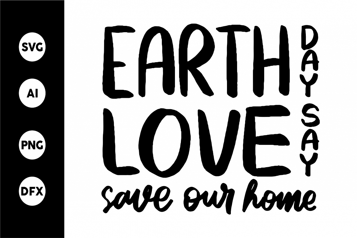 SVG - EARTH LOVE DAYS example image 1