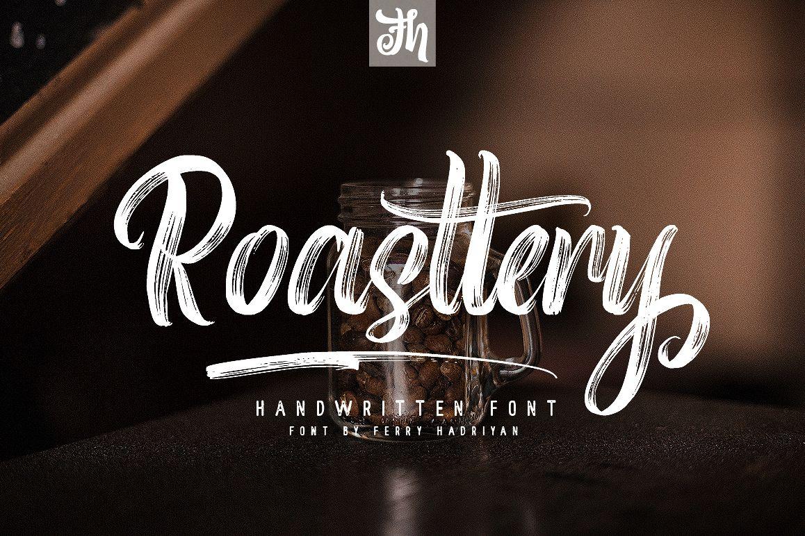 Roasttery - Handwritten Font example image 1