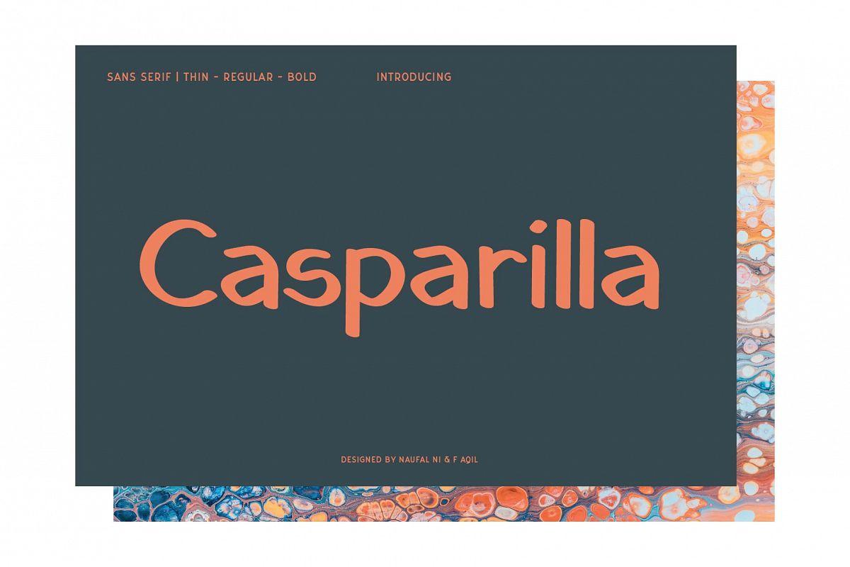 Casparilla Font example image 1